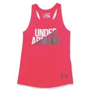 Under Armour Girls Tank Top Under Armour Sz Small